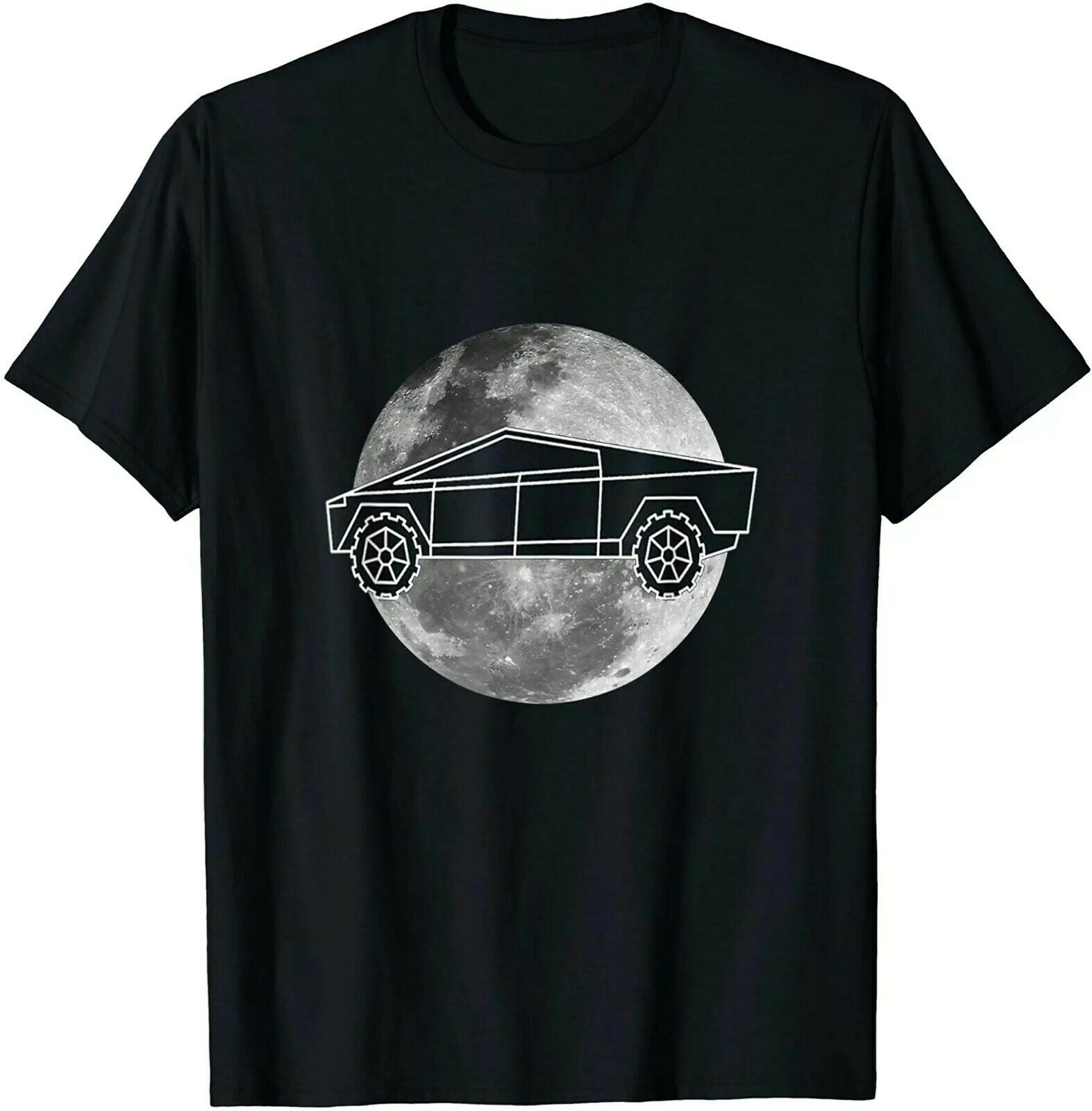 Cybertruck Cyber camión Graffiti Future estetic camiseta de tamaño completo