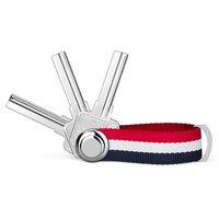 Модный чехол для автомобильных ключей с лентой, чехол-кошелек, держатель для ключей, ключница, повседневный карманный органайзер для ключей...