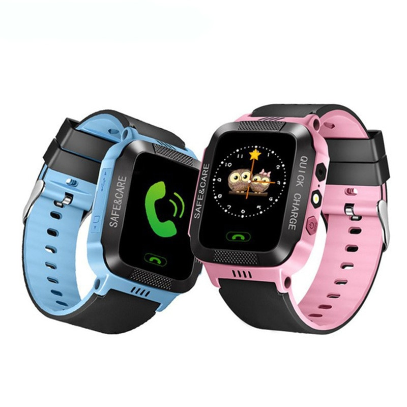 New Products  Children's Smart Phone Positioning Watch Mobile Phone 1.44 Touch + Positioning + Photo Flashlight Smart Watch