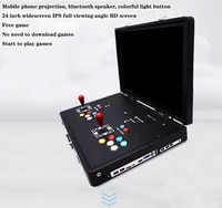 24 inch lcd mini table top arcade with pandoras box 6 joystick buttonmulti games 1300 in 1
