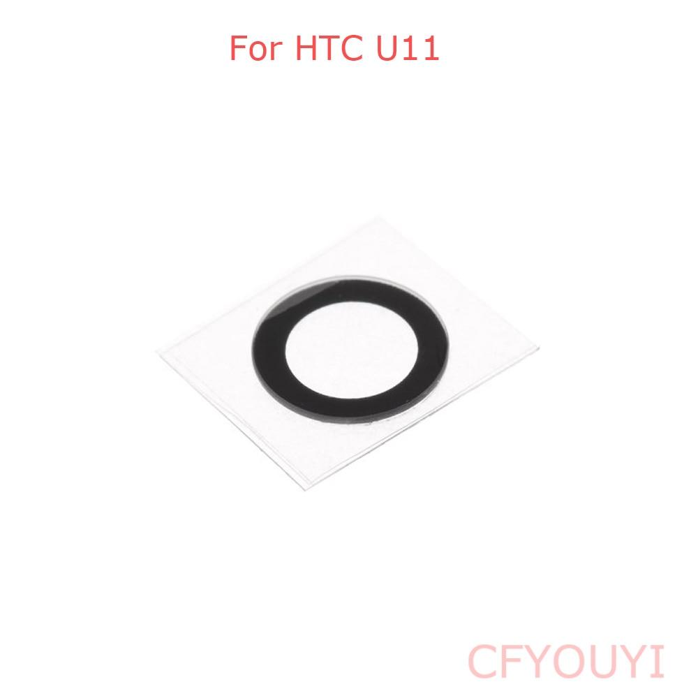 Para HTC U11 parte trasera de la Lente de la cámara con la pegatina adhesiva pegamento repuesto