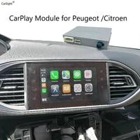 wireless apple carplay adapter for citroen c4 picasso cactus berlingo smeg system multimedia ios14 android auto interface box