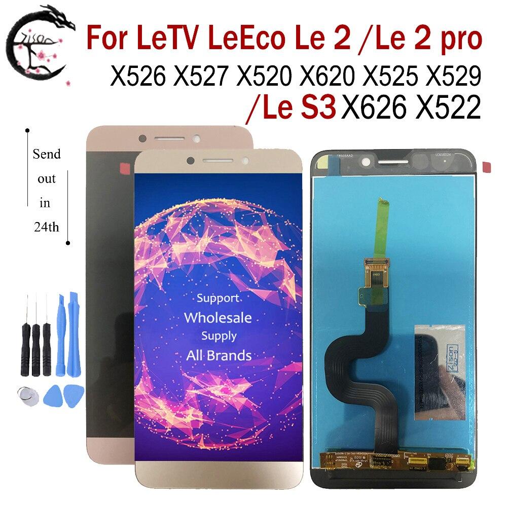 LCD ل Letv LeEco لو 2 Le2pro X526 X527 X520 X620 X525 X529 X528 لو S3 X626 X522 شاشة عرض مجموعة رقمنة اللمس 5.5