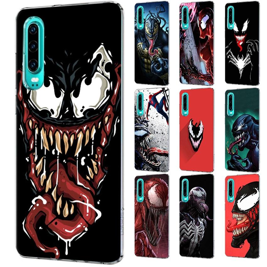 Mobile Phone Case for Huawei Mate 30 20 10 Pro Lite Y6 Y7 Y9 Nova 3 2i 3i 3 4 5i Shell Cover venom cool