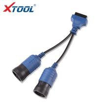Xtool ps2 caminhão obdii-16 cabo 6 + 9 pinos adaptador cabo obd carro cabos de diagnóstico e conectores para x1 ps2mini frete grátis