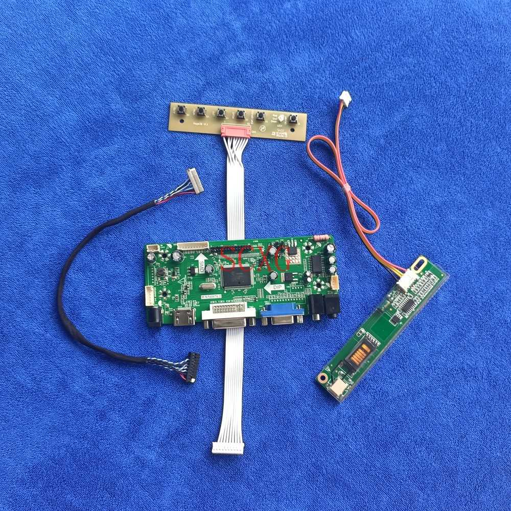 1280*800 20Pin LVDS DVI VGA HDMI-متوافق 1CCFL لوحة ال سي دي تحكم مجلس صالح LTD121EXEQ/LTD121EXPS/LTD121EXUQ/LTD121EXVV عدة