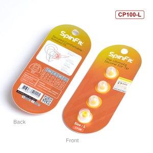 Image 5 - 1 пара (2 шт.) NiceHCK SpinFit CP100 CP100M CP800 CP220 M2 наушники вкладыши патентованный силиконовый Eartip инновационная технология Eartip