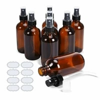 5ml10ml15ml 20ml30ml50ml100ml refillable press pump glass spray bottle oil liquid container perfume atomizer travel bottle