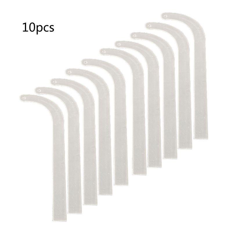 10Pcs Acrylic Earring Fitting Bar Earring Try On Display Earring Wearing Effect Stick Earring Fast Wearer for Live Sales F62B