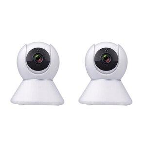 Умная Беспроводная IP-камера Tuya 1080P Hd Wi-Fi с приложением 1080P HD CCTV Onvif для ночного видеонаблюдения