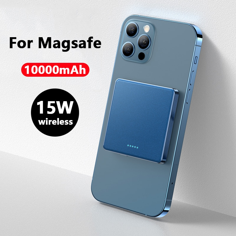 15W Magnetic Wireless Fast charging Power Bank For Magsafe powerbank Charger For iphone 12 xiaomi Magnet Mobile Phone Battery