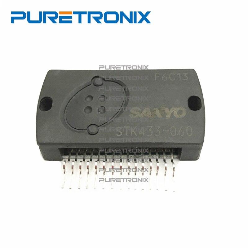 STK433-060 STK433-070 de película gruesa híbrida IC 2 canales Clase AB audio potencia IC