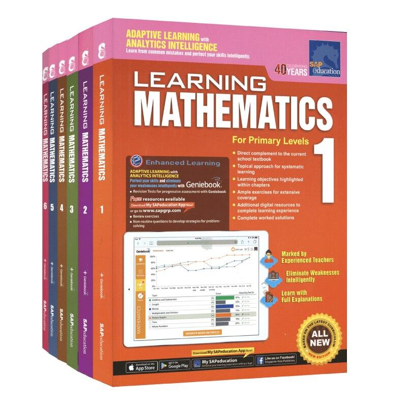 Books English Singapore Mathematics Workbook sap learning Preschool Primary School Teaching Supplement 9 Libros Livros Comics