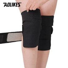 AOLIKES 1 paire genouillères auto-chauffantes thérapie magnétique genouillère soulagement de la douleur arthrite orthèse soutien rotule coussinets