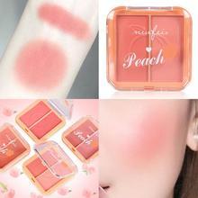 Natural Long-lasting Blush Peach Rouge Blush Palette Contour Blusher Powder Blush Soft Skin-friendly Face Makeup Cosmetics TSLM2