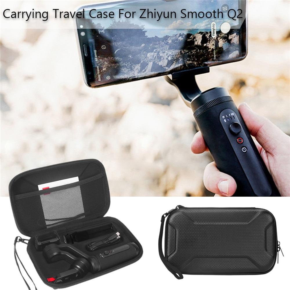 Étui antichoc Portable pour Zhiyun lisse Q2 accessoires sac de rangement de protection étui de voyage avec lanière