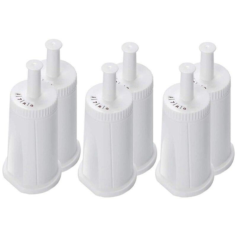 6 حزمة استبدال تصفية المياه ل أوراكل باريستا بامبينو اسبريسو ماكينة القهوة-جزء bes008wht0artic1
