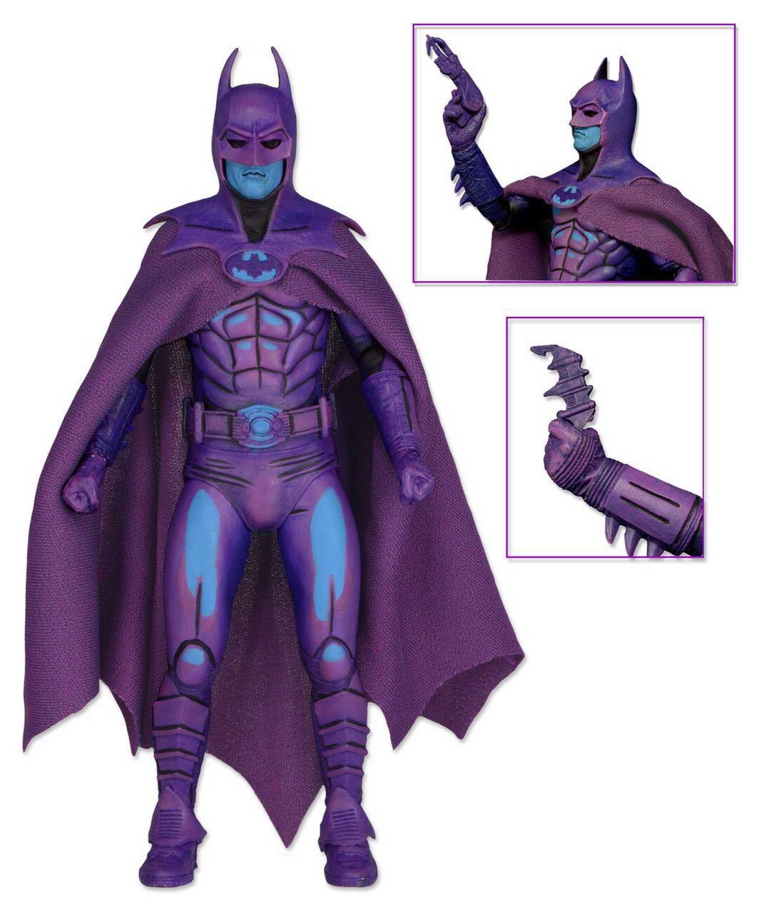 Regalo de Halloween 18cm Modelo figura móvil conjunto de superhéroe de NECA CC Batman