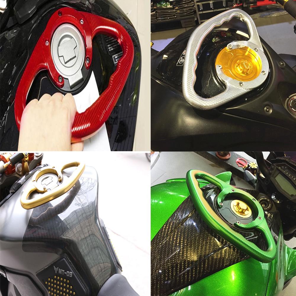 For Yamaha FZ8 Grip 2010 2011 2012 fz8 motorcycle fuel tank passenger handle armrest