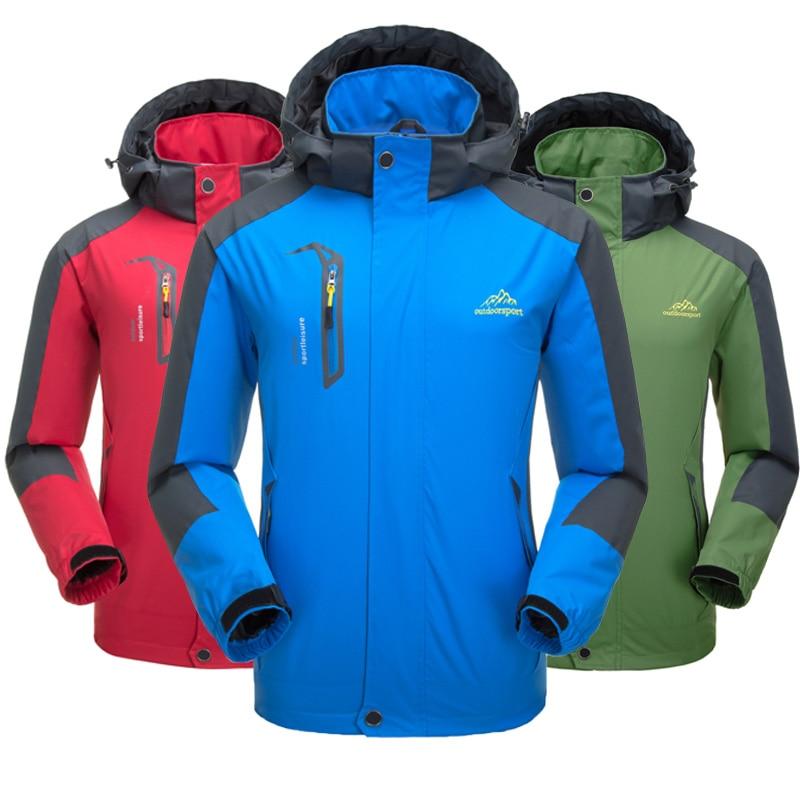Männer Ski Anzug Jacke Thermische Wärme Snowboarden Jacke Atmungs Plus Größe Sport Jacke Für Camping Schneit Freies Verschiffen