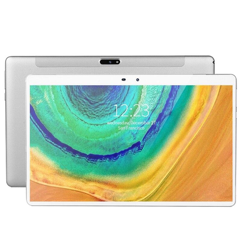 سريع 5G واي فاي أقراص 11.6 'أقراص أندرويد 8000mAh 10 عشاري قاعدة البيانات الأساسية للكمبيوتر اللوحي 4G Lte 6GB RAM 128GB ROM Tab 5MP + 13MP tabletas