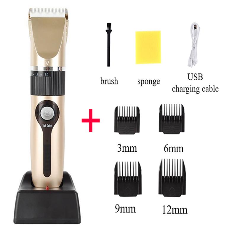 ماكينة قص الشعر الاحترافية ، لاسلكية ، قابلة لإعادة الشحن ، Q8