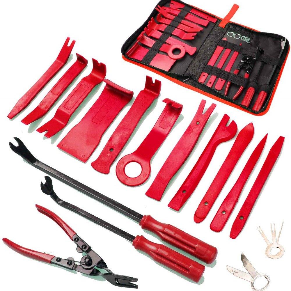 Инструменты для ремонта автомобильной аудиосвязи инструмент для снятия отделки автомобильной панели двери аудио отделки набор инструмент...