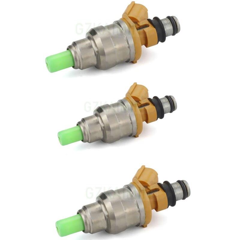 set of 3 pcs  high quality nozzle fuel injector 195500-2170 195500-2170  for DAIHATSU MOVE CUORE L6/9 for DAIHATSU MOVE CUORE L6