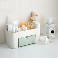 plastic desktop cosmetics storage box desktop plastic storage box household multi functional jewelry storage box