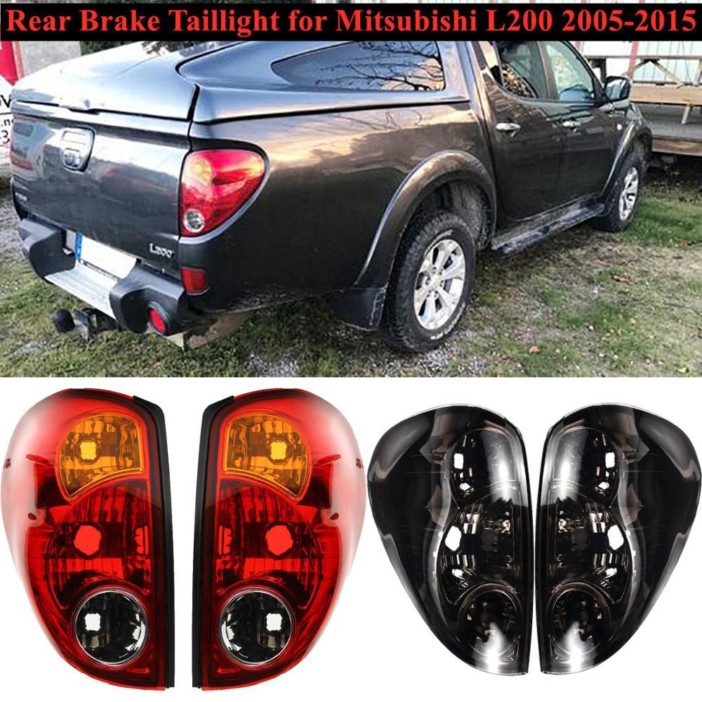 Luz trasera de freno, luz trasera de coche, luz de señal para Mitsubishi Triton 2005-2015 Colt 2007-2015 L200 2005-2016, 1 par