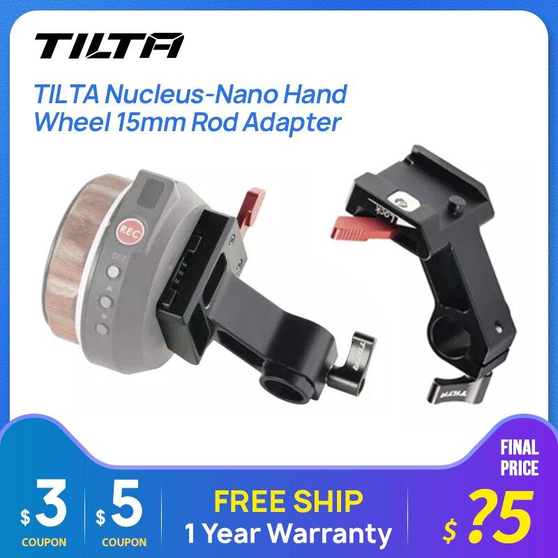 TILTA Nucleus-Nano Hand Rad 15mm Stange Adapter /Tilta anziehen toggle dslr kamera zubehör