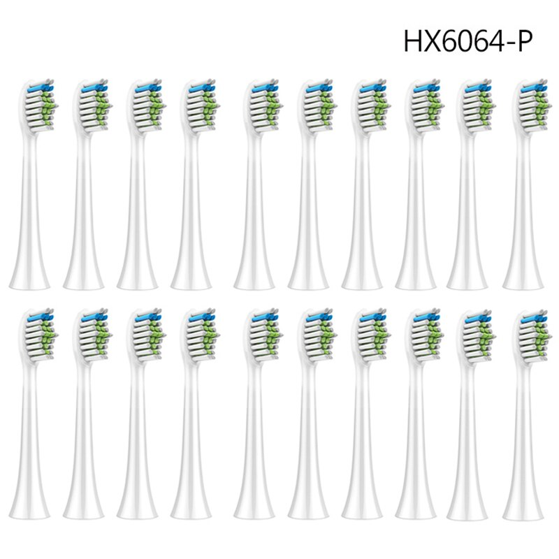 32PCS HX6064 Electric ToothBrush Heads For Replace PH Soni care Flex Care Diamond Clean HX6930 HX9340 HX6950 HX6710 HX9140