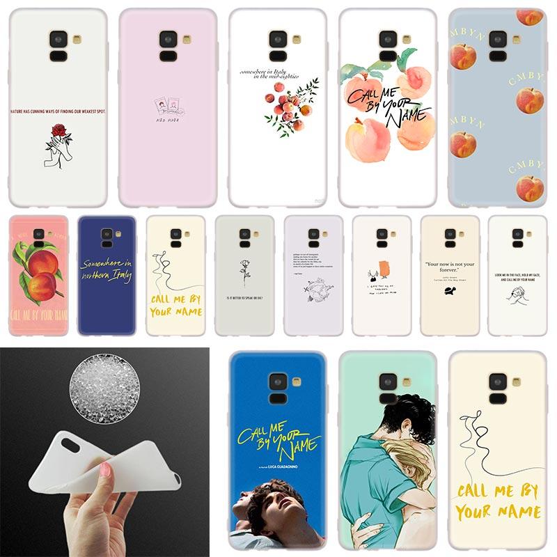 Me llaman por su nombre suave funda de teléfono funda para Samsung Galaxy A50 A10 A20 A30 A40 A60 A70 A6 A8 más A7 A9 2018 A3 A5 2017 A90