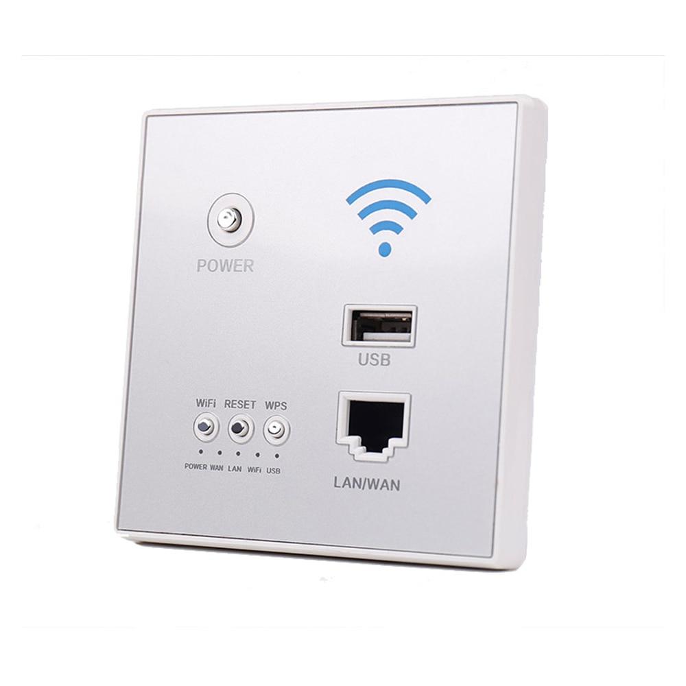 مكرر واي فاي لاسلكي ذكي ، 300 ميجابت في الثانية ، طاقة AP ، تمديد لوحة التوجيه 2.4 جيجاهرتز ، مع مفتاح مقبس USB