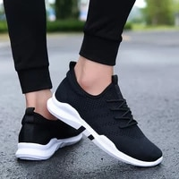 fashion mens casual shoes white lace up breathable shoes sneakers basket white black tennis mens trainers zapatillas hombre