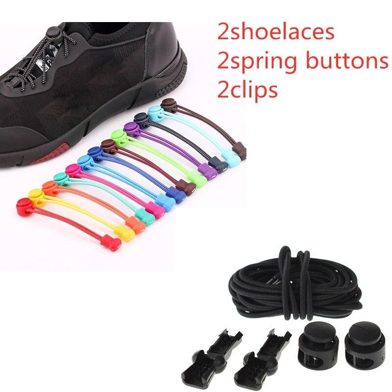 1 пара Детские эластичные шнурки для обуви|Шнурки| |