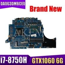 100% travail pour hp OMEN 15-DC 15T-DC carte mère L24335-601 DA0G3DMBCE0 i7-8750H GTX1060 6G entièrement testé