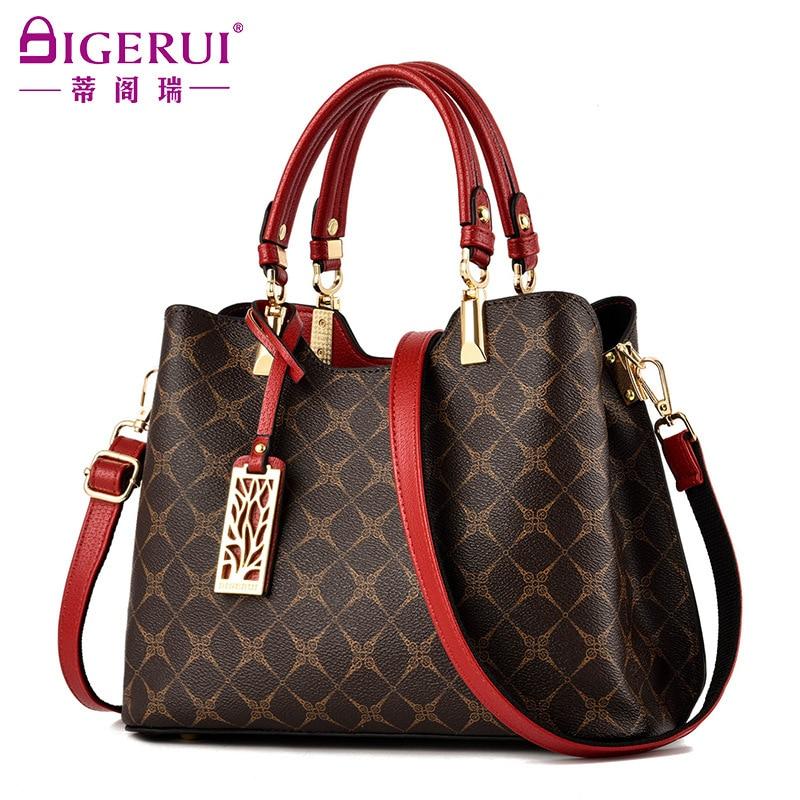 New Fashion Trend Printing Shoulder Messenger crossbody Handbag Wild Large Capacity  Women's Casual Totest Bag Lous vuiton