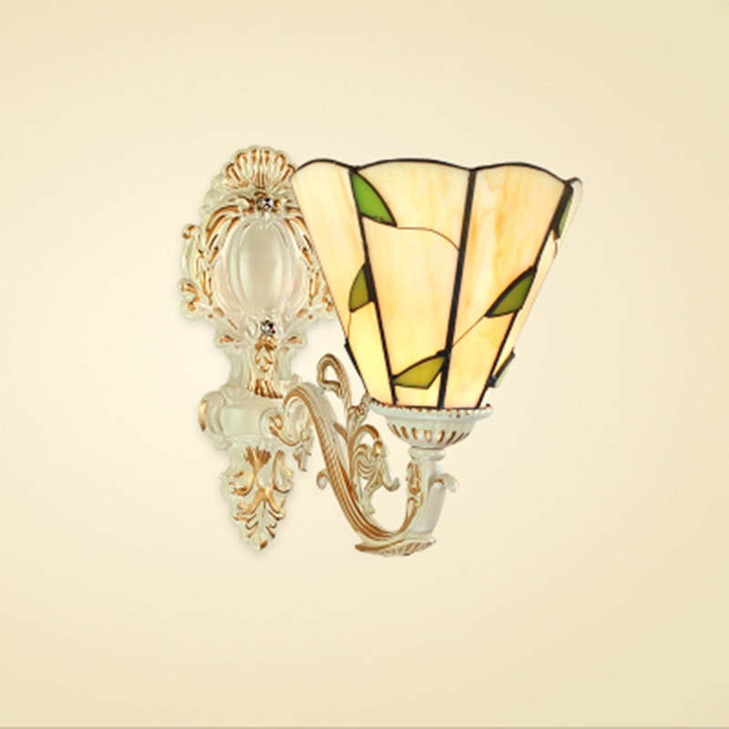 Lámparas de pared Tiffany, lámpara Tiffanylamp, luces de pared para interior, hogar, dormitorio, sala de estar, iluminación