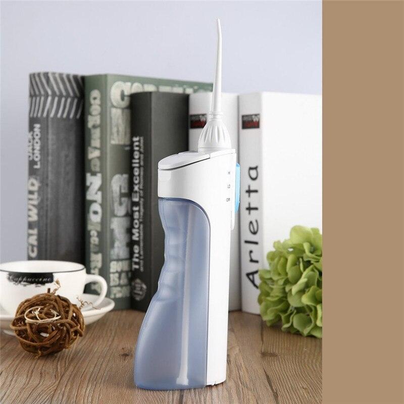 Portable Water Flosser Electric Oral Irrigator Dental Jet For Teeth 300ml Waterpulse Teeth Cleaner Tool Free Shipping enlarge