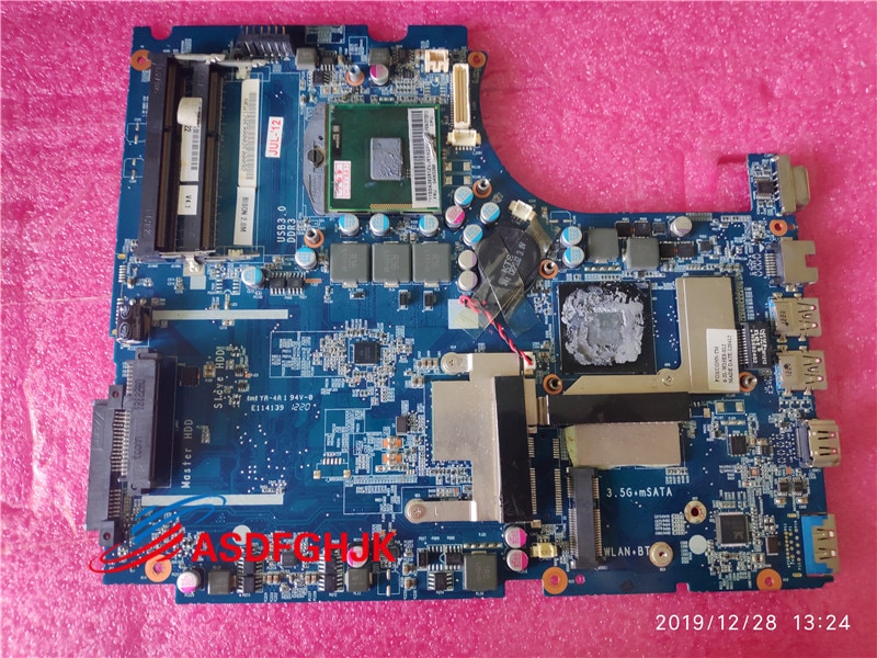 لوحة رئيسية من Clevo W170ER Sager NP6175 مع GT650M 6-71-W15E0-D04 W150ERQ 100% TESED OK