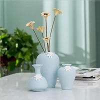 nordic ins handmade vase ceramic ornaments wholesale white biscuit creative gift home decoration small vase