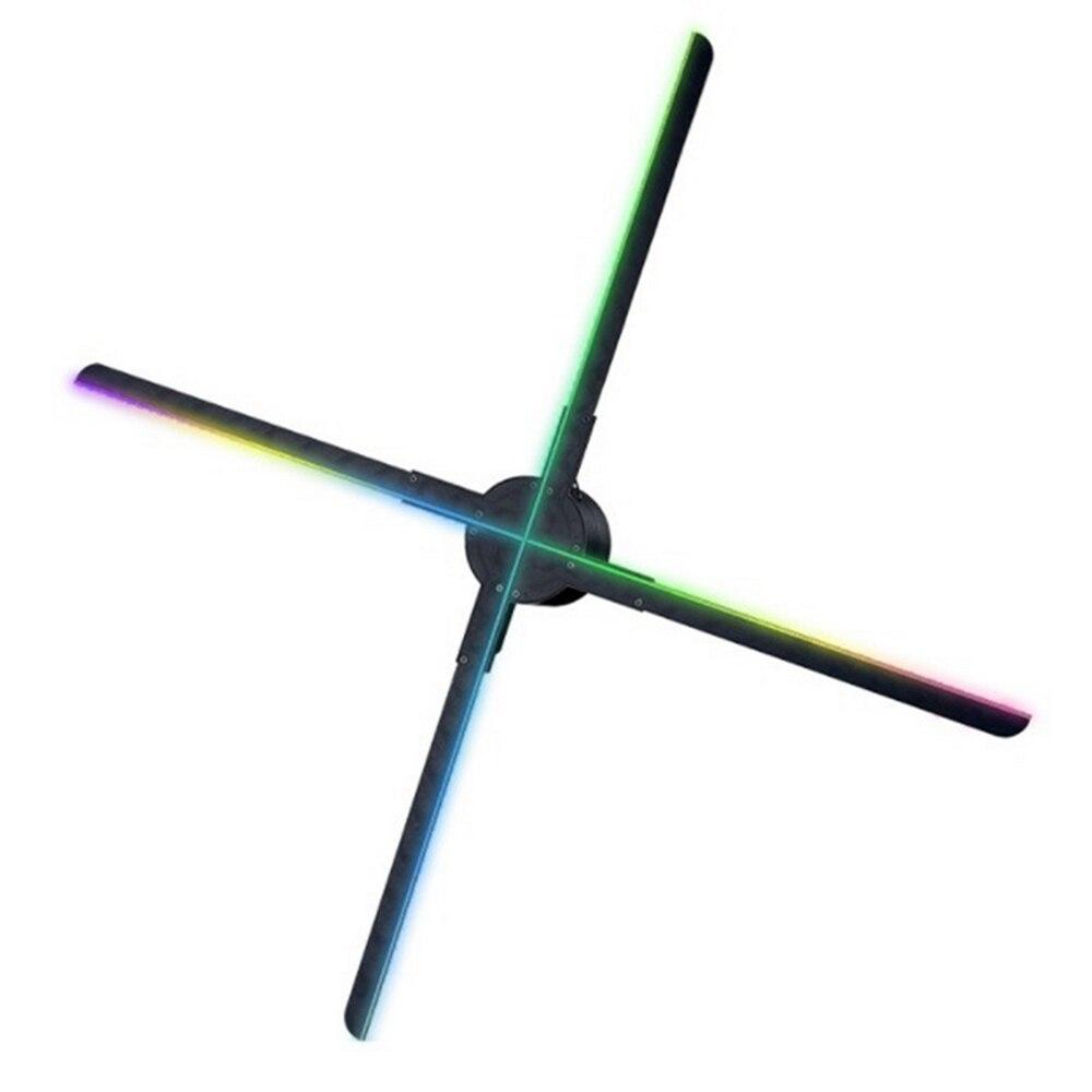 56 см 3d вентилятор голограмма проектор настенный Wi-Fi светодиод знак голографический лампа плеер пульт реклама дисплей изображения% 2F видео