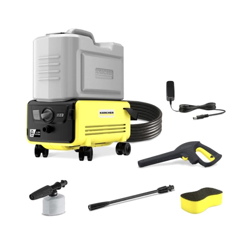 60Bar Portable Electric Wireless Washer Machine Cleaner 2000mAh 16L Water Tank IPX5 high-pressure Water Guns