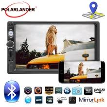 Navegación GPS espejo enlace USB/SD/MMC lector de coches Función de carpeta MP3 radio de coche control remoto cámara trasera bluetooth