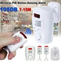 Detecteur de mouvement Anti-vol a capteur infrarouge  systeme 2  alerte de securite domestique sans fil  controle a distance  moniteur  r J0M6