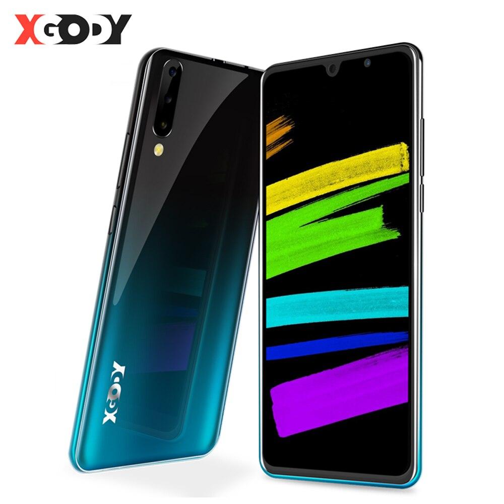 Neue XGODY P30 Handy Android 9,0 6 Zoll 189 2GB 16GB MTK6580 Quad Core Dual SIM 5MP kamera WiFi 3G Celular Smartphone