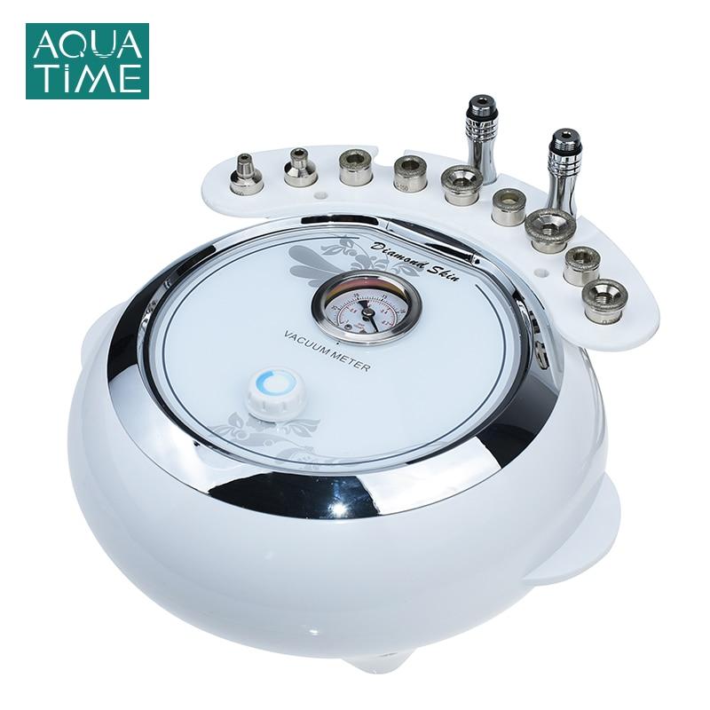 3 in 1 Diamond Microdermabrasion Instrument Exfoliate Sucking Blackheads Skin Rejuvenation Equipment Vacuum & Spray Salon Tool