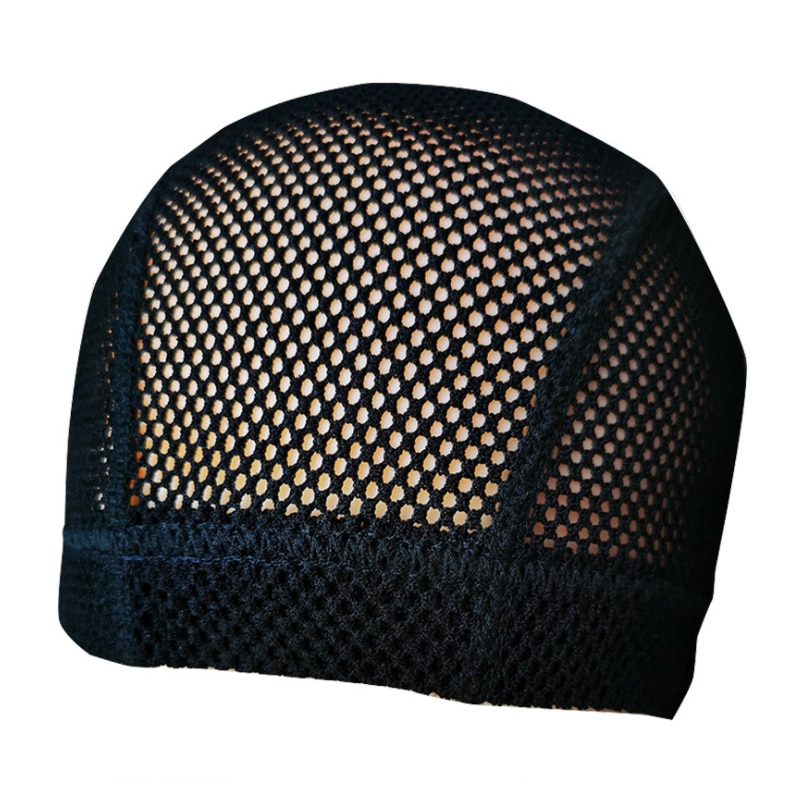 1PC Soft Crochet Wig Cap Thick Mesh Dome Cap New Wig Caps For Making Wigs Big Hole Hair Net Can Stretch Free Size