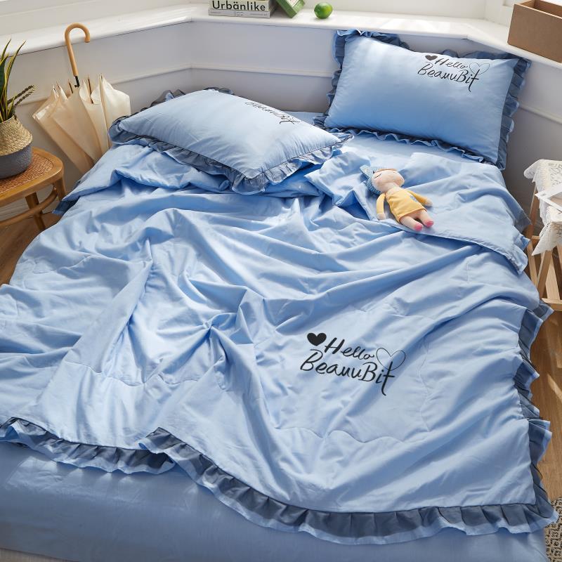 التوأم إلى سوبر الملك الحجم غطاء طقم سرير 4 قطعة مجموعة أنيقة لحاف صيفي بطانية لحاف مجموعة 4 قطعة مع 1 لحاف 2 المخدة 1 ورقة